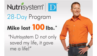 Nutrisystem D. 28-Day Program. Mike lost 100lbs.*