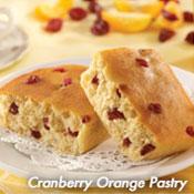 Cranberry Orange Pastry