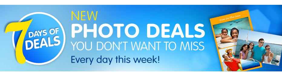 7 Days of Deals | New Photo Deals You Don't Want to Miss Every Day This Week!