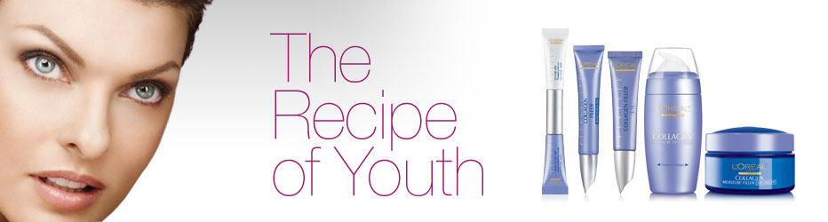 L'Oreal Paris. The recipe of Youth.