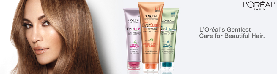 L'Oreal's Gentlest Care for Beautiful Hair. L'Oreal Paris