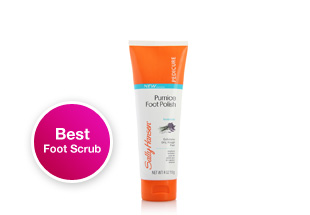 Best Foot Scrub. Sally Hansen Smoothing Pumice Foot Polish. This pumice scrub effectively gets rid of dead skin and calluses without excessive scrubbing. Shop now.