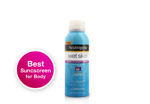 Best Sunscreen for Body. Neutrogena Wet Skin Sunblock Spray SPF 85+. This sunblock spray protects skin from the sun's powerful rays with SPF 85. Shop now.