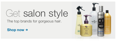 Get salon style. The top brands for gorgeous hair. Shop now.