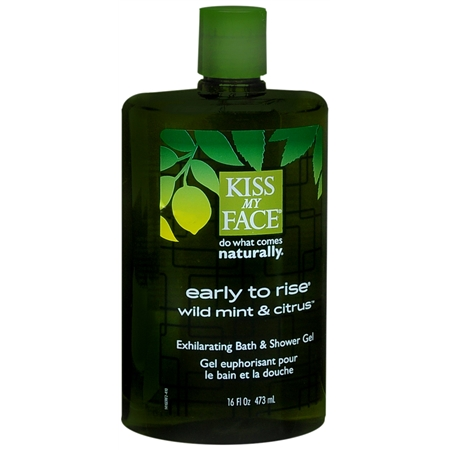 Kiss My Face Early To Rise Bath & Shower Gel