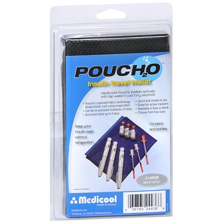 Medicool Poucho Insulin Travel Wallet X-Large