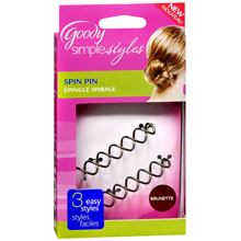 Simple Styles Brunette Spin Hair Pin
