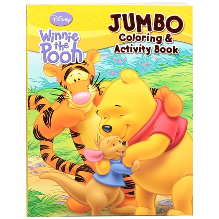 Walgreens Disney Winnie The Pooh Jumbo Coloring and Activity Book