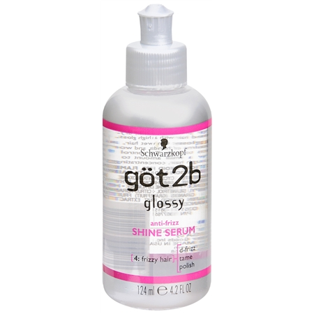Glossy Anti-Frizz Shine Serum