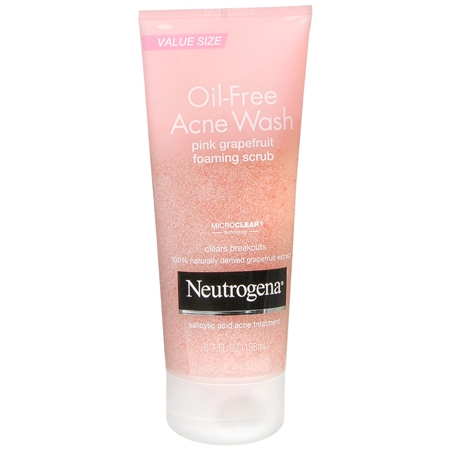 Oil-Free Acne Wash Foaming Scrub
