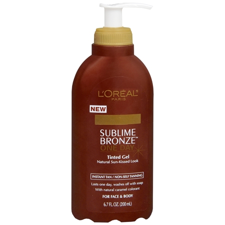 L'oreal - Sublime Bronze One Day Instant Tanning Gel