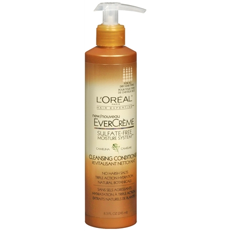 L'Oreal Evercreme Sulfate Free Shampoo and Conditioner