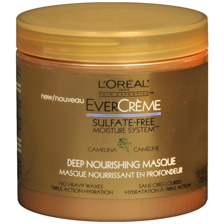 L'Oreal Evercreme Deep Nourishing Hair Masque Sulfate Free