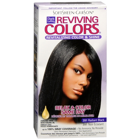 Softsheen Carson Dark And Lovely Reviving Colors Semi Perm Haircolor