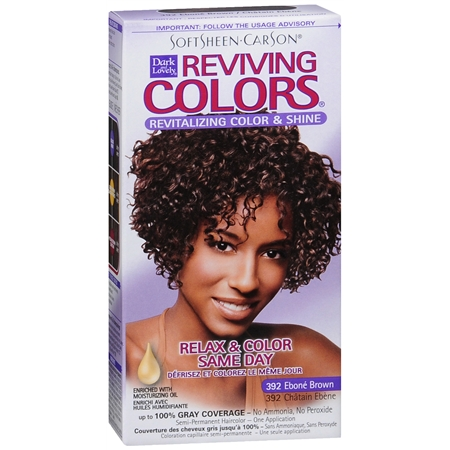 Softsheen Carson Dark and Lovely Reviving Semi Permanent Haircolor