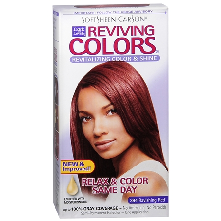 Softsheen Carson Dark and Lovely Reviving Color Semi Permanent Haircolor