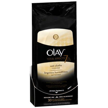 Olay Total Effects Total Effects 7 in 1 Anti Aging Wet Cleansing Cloths