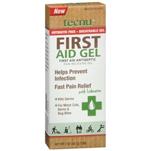 First Aid Antiseptic Pain-Relieving Gel