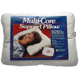 Multi-Core Pillow with Recessed Center