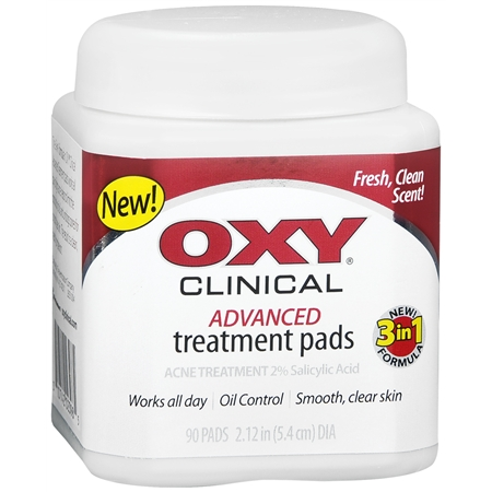 Clinical Advanced Acne Treatment Pads