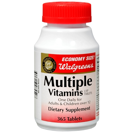 Walgreens Gold Seal Multiple Vitamins Dietary Supplement Tablets