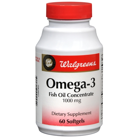Walgreens Gold Seal Omega 3 1000 Mg Dietary Supplement Softgels
