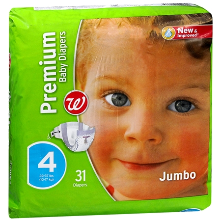 Walgreens Premium Baby Diapers