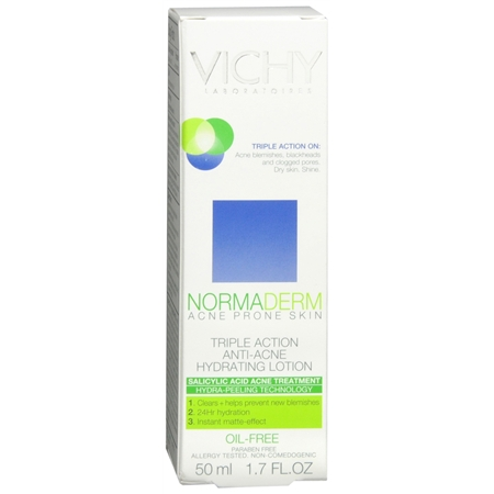 Normaderm Triple-Action Anti-Acne Hydrating Lotion