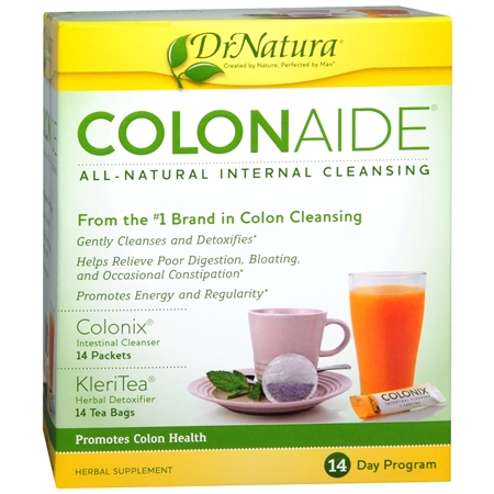 DrNatura Colonaide Herbal Supplement 14 Day Program Kit