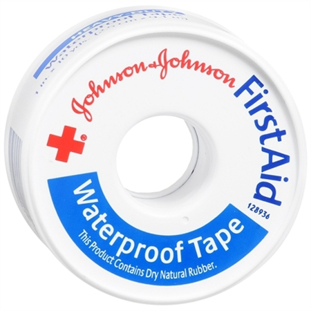 Johnson and Johnson Red Cross Heavy Duty Waterproof First Aid Tape