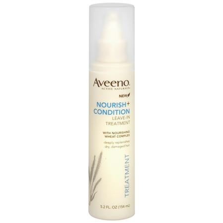Aveeno Active Naturals Nourish + Condition Leave-In Hair Treatment Spray