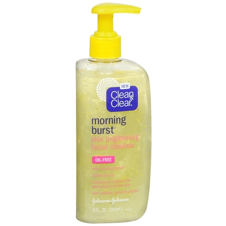 Morning Burst Skin Brightening Facial Cleanser Gel