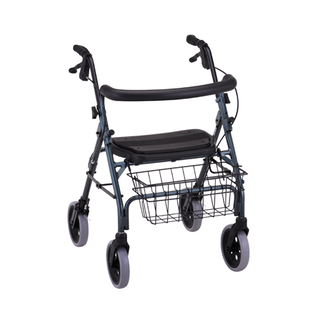 Nova Cruiser Deluxe Rolling Walker With Hand Brakes Green, 4202G