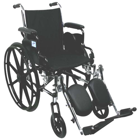 Nova Wheelchair Lightweight With Removable Flip Back Desk Arms And Elevating