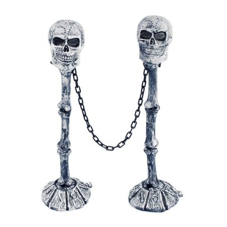 Skull Fence Posts (2 Pack)