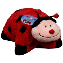 Folding Stuffed Animal - Ms. Lady Bug