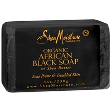 Organic African Black Soap Bar