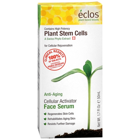 Eclos Cellular Activator Face Serum with High Potency Plant Stem Cells