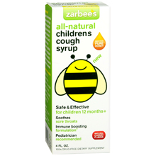All Natural Cherry Children's Cough Syrup