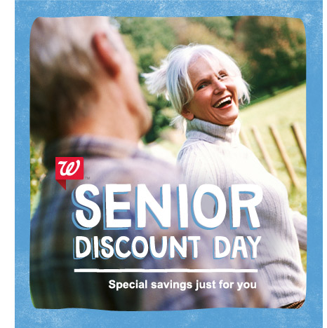 senior discount at Walgreens