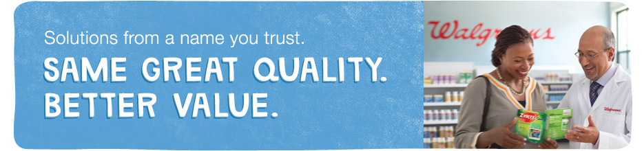 Solutions from a name you trust. Same great quality. Better value.