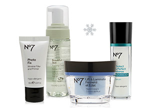 Boots No7 Skin Care and Cosmetics