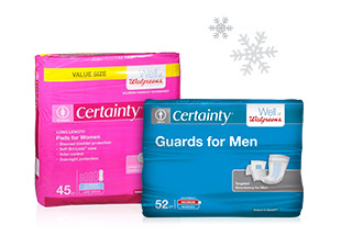 Walgreens Certainty(R) Protection