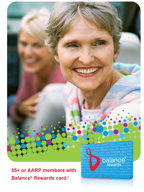 Seniors Day Tuesday, Jan. 20 only. 55+ or AARP members with Balance(R) Rewards card.(1)
