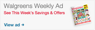 Walgreens Weekly Ad. See this week's savings and offers. View Ad.