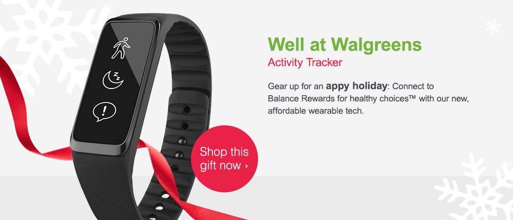 Well at Walgreens Activity Tracker. Shop this gift now.