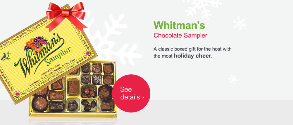 Whitman's Chocolate Sampler. See details.