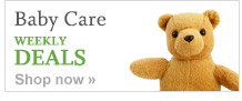 Baby Care WEEKLY DEALS. Shop now