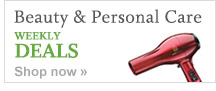 Beauty & Personal Care WEEKLY DEALS. Shop now