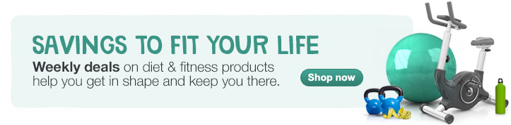 Savings to Fit Your Life. Weekly deals on diet & fitness. Shop now.